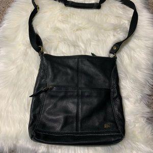 Black leather the Sak crossbody bag